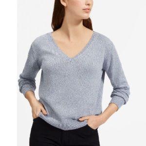 Everlane 100% Cotton V-neck Pullover